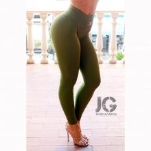 Leggings Básicos Verde Militar JESSICA GARCÍA