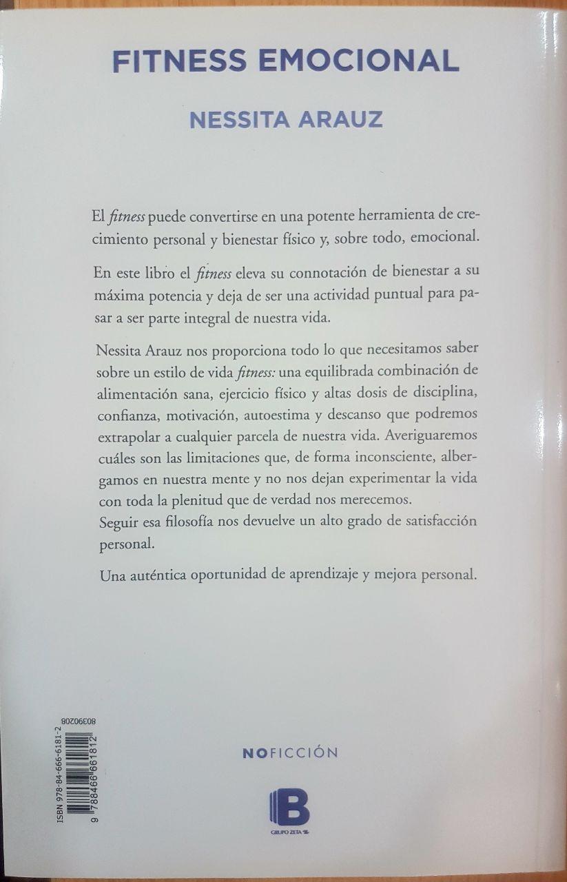 Libro Fitness Emocional De Nessita Arauz