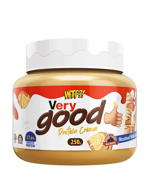 WTF Very Good, Crema de Avellanas y Chocolate Blanco