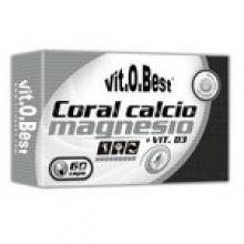 Coral Calcio y Magnesio 60caps