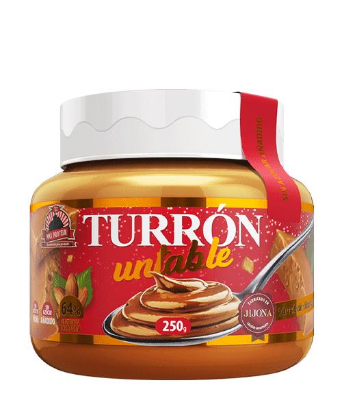 Turrón Untable. Crema Proteica de Turrón de Almendras 250gr
