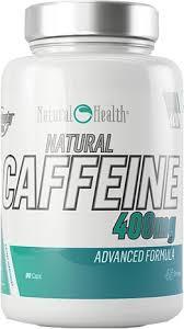 Natural Caffeine 400mg 90caps