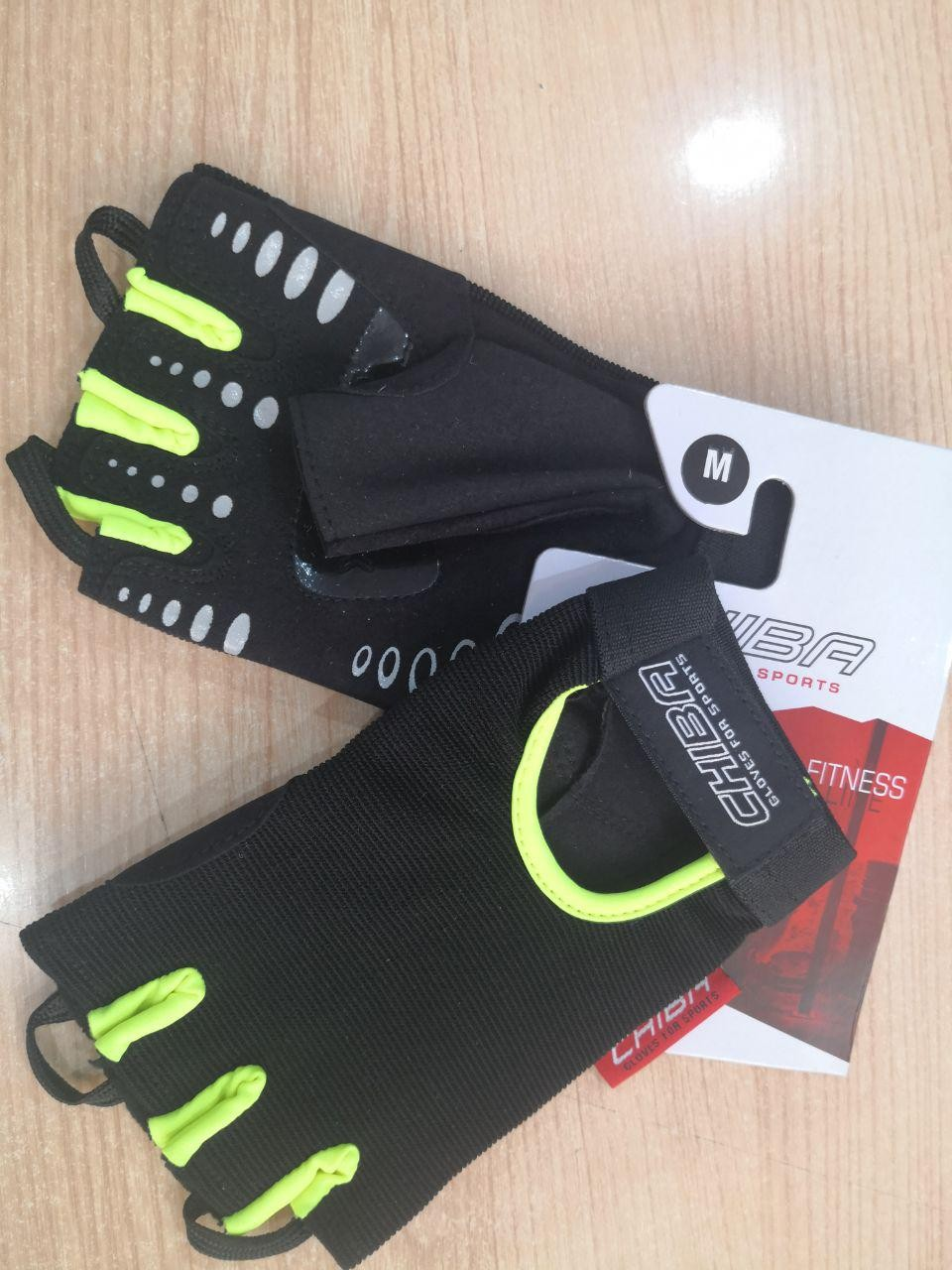 Guantes FIT 40416 Negro-Neon