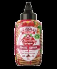 Grandmas Syrup Pancake. Genuíno y cremoso sabor a fresa, 290ml