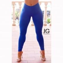 Leggings Básicos Azul Eléctrico JESSICA GARCÍA