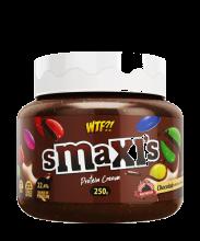 WTF - Smaxis Chocomilk. Crema proteica sabor chocolate con choco buttons
