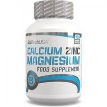 Calcium Zinc Magnesium 100tabletas
