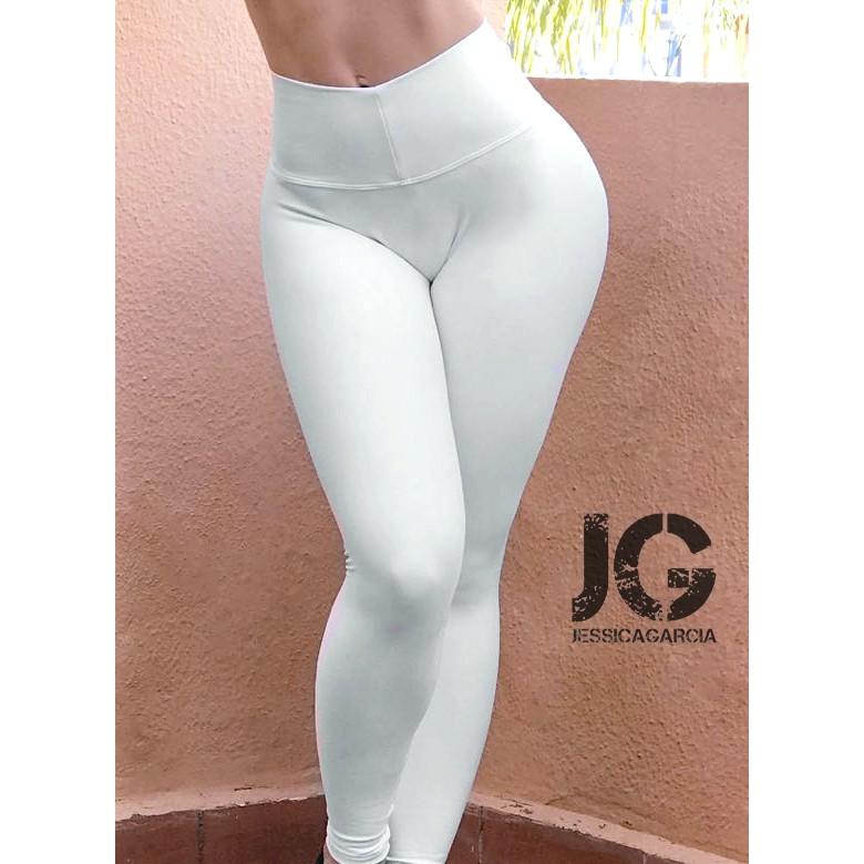 Leggings Básicos Blancos JESSICA GARCÍA