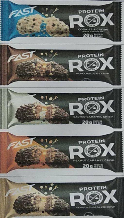 Barritas Proteicas Rox 55 gramos