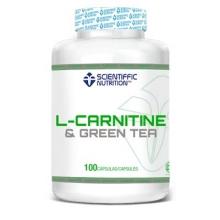 L-Carnitina con Té Verde 100cáps