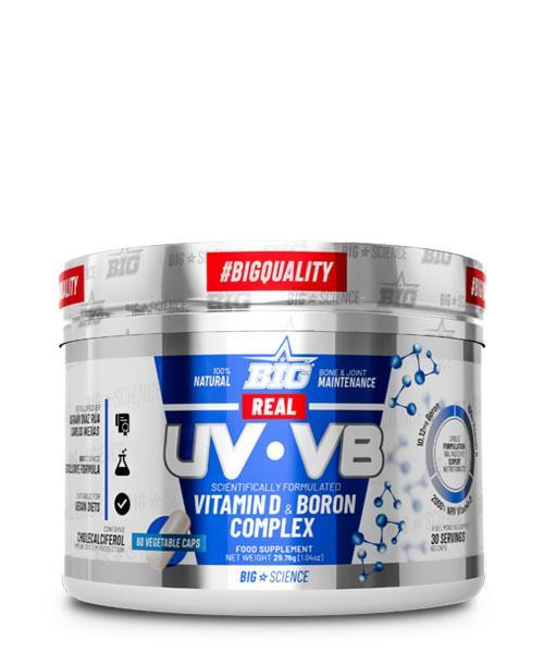 REAL UV*VB VITAMIN D & BORON COMPLEX 60CAPS