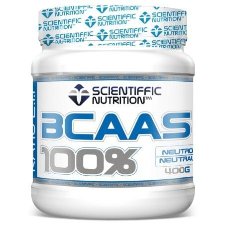 BCAAS 100% 400grs Neutro