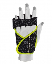 40936 Guantes Lady Motivation Negro Blanco Neon