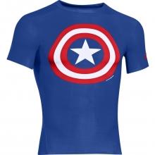 Camiseta Capitán América Azul Talla M