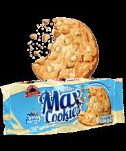 Max Protein Cookies con Pepitas de Chocolate Blanco pack de 4 galletas