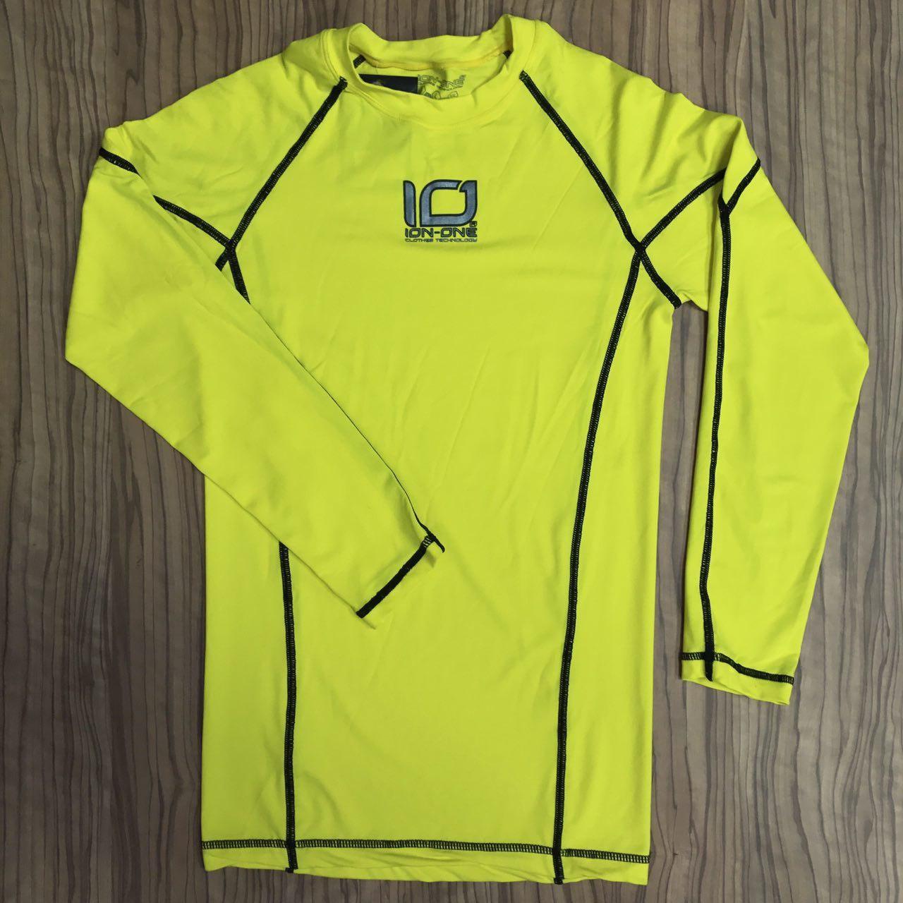 Camiseta Bioceramicas Ion One Amarillo Ref: 521