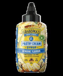 Grandmas Syrup. Genuíno sabor a sirope de crema pastelera 290ml