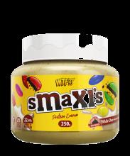 WTF  - Smaxis White. Crema proteica de Chocolate con Choco buttons.