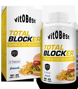 Total Blocker 90caps Bloquea absorción grasas e hidrátos
