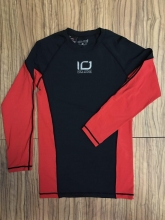 Camiseta Bioceramicas Ion One Negro Rojo