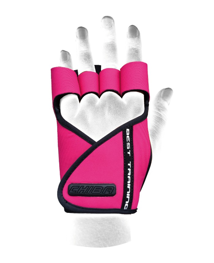 40936 Lady Motivation Glove Rosa/negro