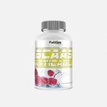 BCAAS MASTICABLES 100TABLETAS FRAMBUESA